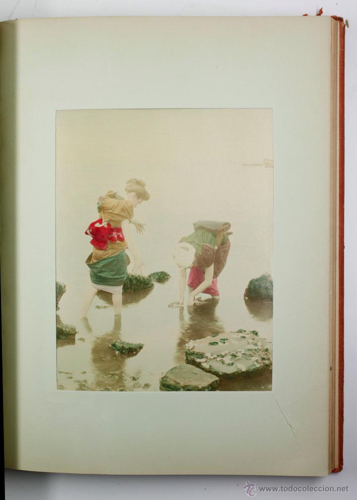 Fotografía antigua: JAPAN,1897-98, BRINKLEY, EDITION DE LUXE. Más de 200 albúminas y 9 collotipos. 9 álbumes. Ver fotos - Foto 29 - 44465154