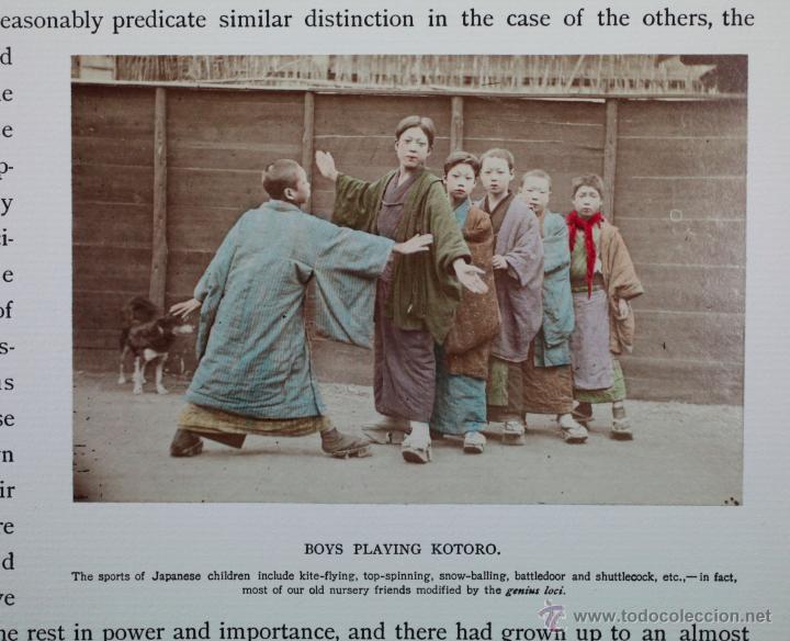 Fotografía antigua: JAPAN,1897-98, BRINKLEY, EDITION DE LUXE. Más de 200 albúminas y 9 collotipos. 9 álbumes. Ver fotos - Foto 30 - 44465154