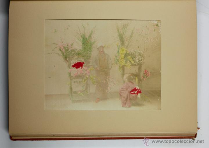 Fotografía antigua: JAPAN,1897-98, BRINKLEY, EDITION DE LUXE. Más de 200 albúminas y 9 collotipos. 9 álbumes. Ver fotos - Foto 31 - 44465154