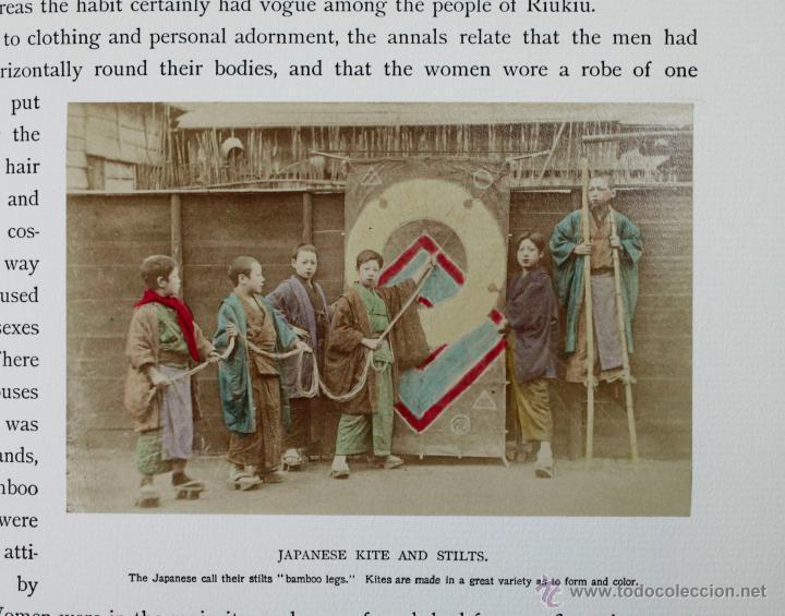 Fotografía antigua: JAPAN,1897-98, BRINKLEY, EDITION DE LUXE. Más de 200 albúminas y 9 collotipos. 9 álbumes. Ver fotos - Foto 36 - 44465154