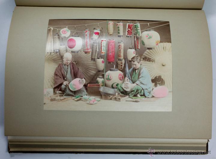 Fotografía antigua: JAPAN,1897-98, BRINKLEY, EDITION DE LUXE. Más de 200 albúminas y 9 collotipos. 9 álbumes. Ver fotos - Foto 37 - 44465154
