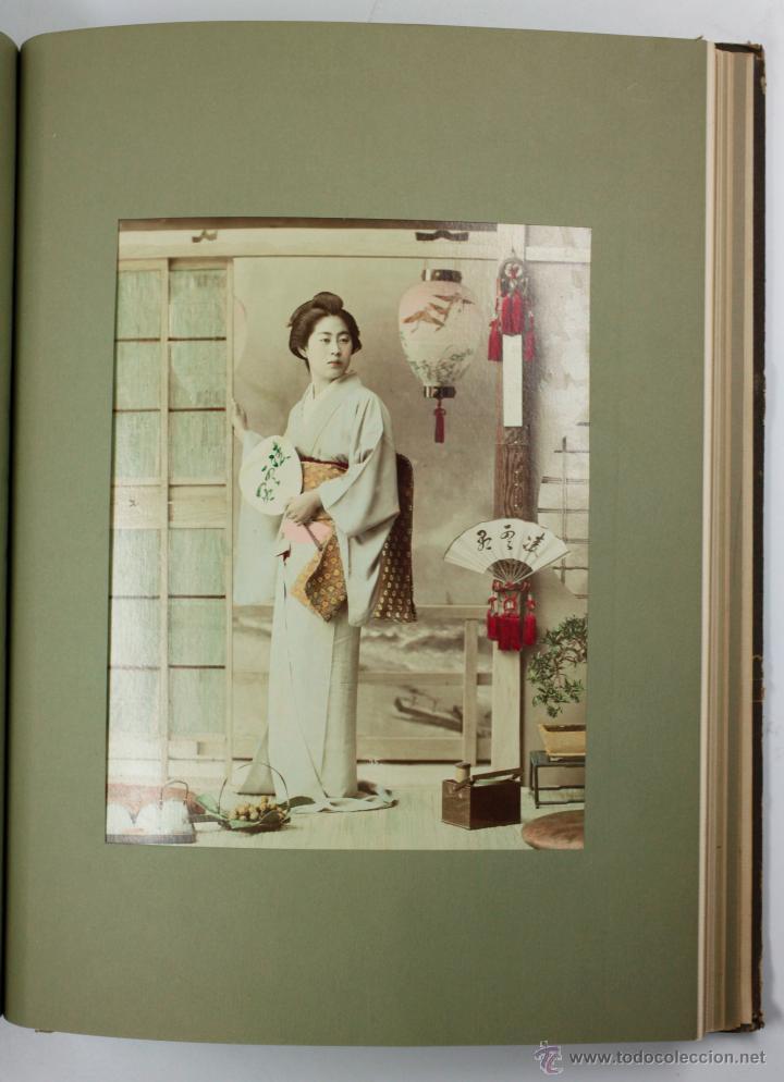 Fotografía antigua: JAPAN,1897-98, BRINKLEY, EDITION DE LUXE. Más de 200 albúminas y 9 collotipos. 9 álbumes. Ver fotos - Foto 38 - 44465154