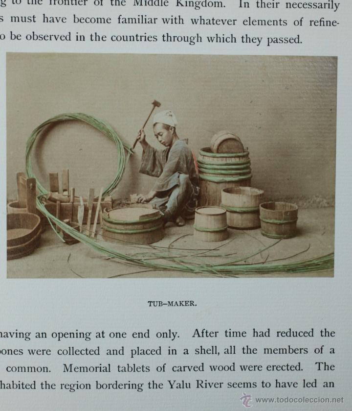 Fotografía antigua: JAPAN,1897-98, BRINKLEY, EDITION DE LUXE. Más de 200 albúminas y 9 collotipos. 9 álbumes. Ver fotos - Foto 41 - 44465154