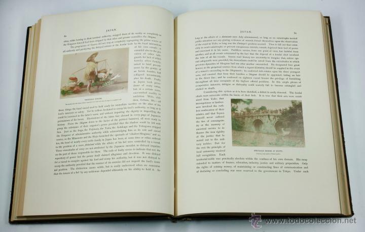 Fotografía antigua: JAPAN,1897-98, BRINKLEY, EDITION DE LUXE. Más de 200 albúminas y 9 collotipos. 9 álbumes. Ver fotos - Foto 43 - 44465154