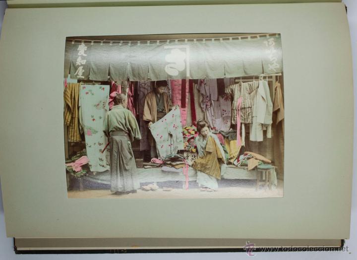 Fotografía antigua: JAPAN,1897-98, BRINKLEY, EDITION DE LUXE. Más de 200 albúminas y 9 collotipos. 9 álbumes. Ver fotos - Foto 47 - 44465154