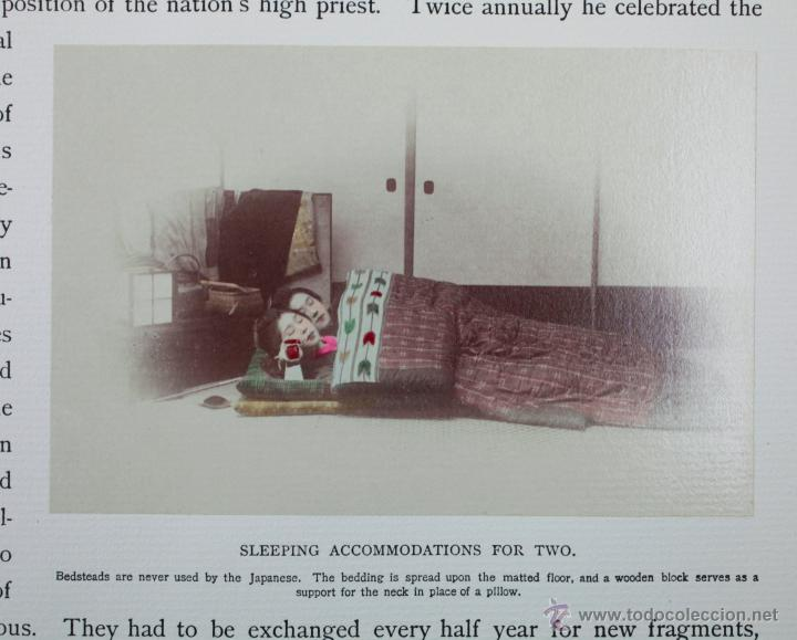 Fotografía antigua: JAPAN,1897-98, BRINKLEY, EDITION DE LUXE. Más de 200 albúminas y 9 collotipos. 9 álbumes. Ver fotos - Foto 50 - 44465154