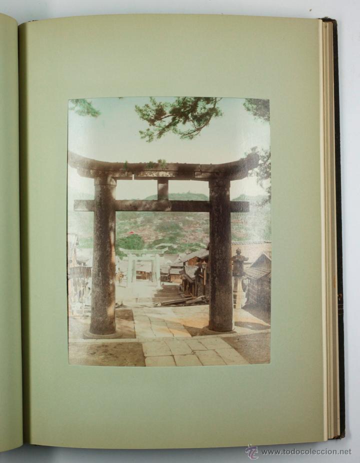 Fotografía antigua: JAPAN,1897-98, BRINKLEY, EDITION DE LUXE. Más de 200 albúminas y 9 collotipos. 9 álbumes. Ver fotos - Foto 51 - 44465154