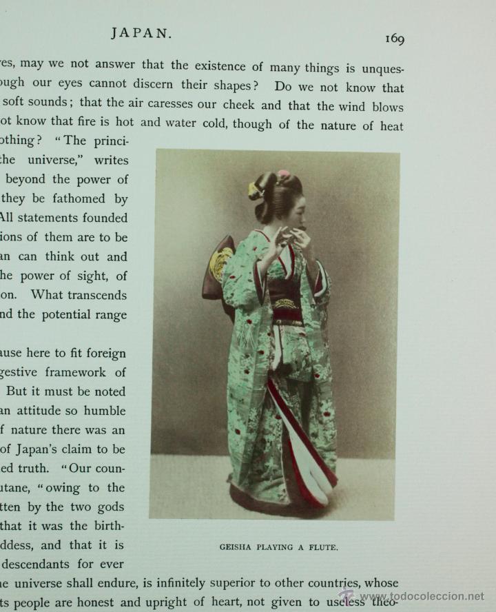 Fotografía antigua: JAPAN,1897-98, BRINKLEY, EDITION DE LUXE. Más de 200 albúminas y 9 collotipos. 9 álbumes. Ver fotos - Foto 52 - 44465154