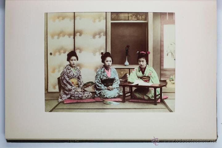 Fotografía antigua: JAPAN,1897-98, BRINKLEY, EDITION DE LUXE. Más de 200 albúminas y 9 collotipos. 9 álbumes. Ver fotos - Foto 53 - 44465154