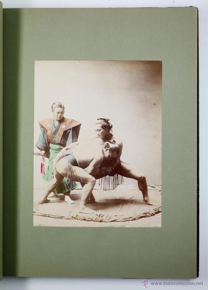 Fotografía antigua: JAPAN,1897-98, BRINKLEY, EDITION DE LUXE. Más de 200 albúminas y 9 collotipos. 9 álbumes. Ver fotos - Foto 55 - 44465154
