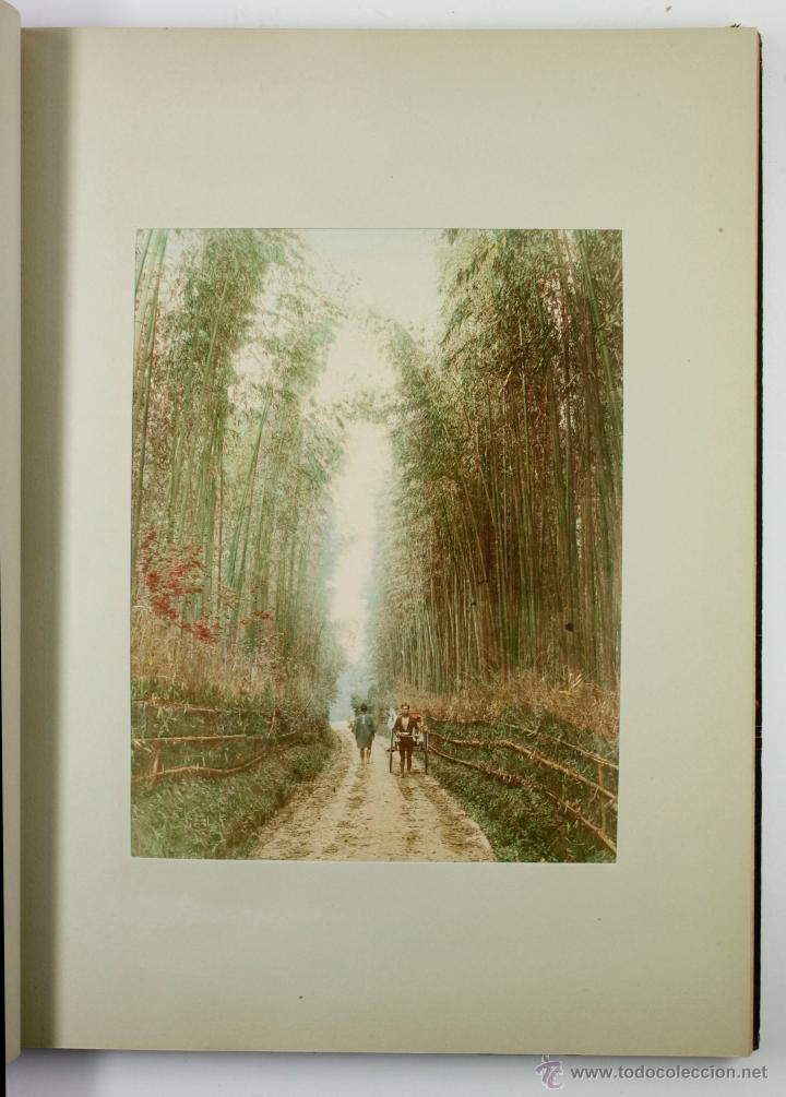 Fotografía antigua: JAPAN,1897-98, BRINKLEY, EDITION DE LUXE. Más de 200 albúminas y 9 collotipos. 9 álbumes. Ver fotos - Foto 57 - 44465154