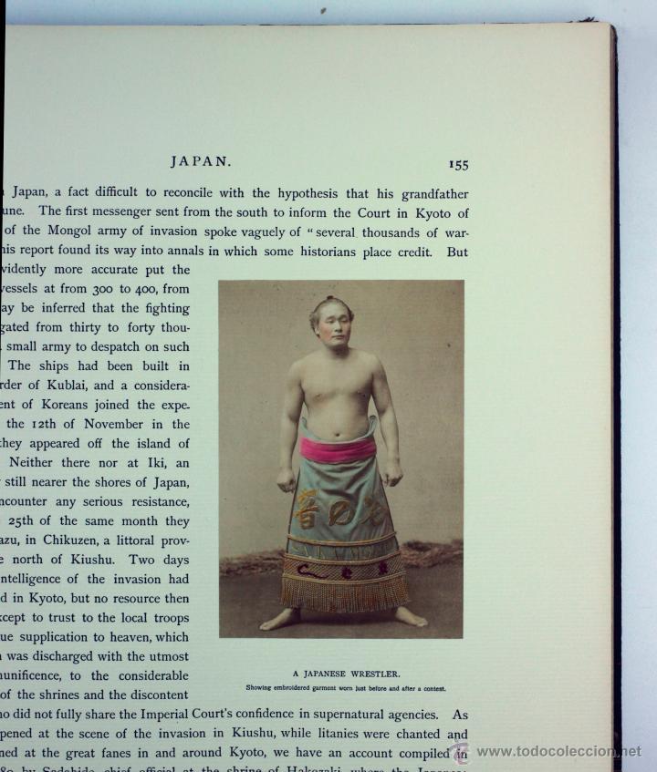 Fotografía antigua: JAPAN,1897-98, BRINKLEY, EDITION DE LUXE. Más de 200 albúminas y 9 collotipos. 9 álbumes. Ver fotos - Foto 58 - 44465154