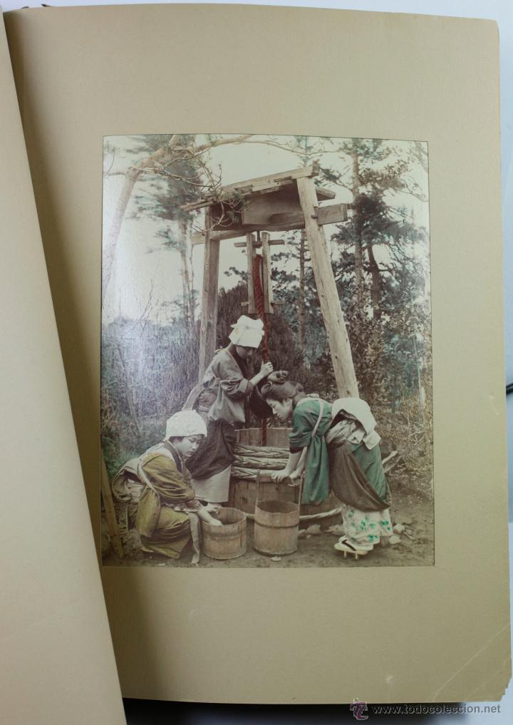 Fotografía antigua: JAPAN,1897-98, BRINKLEY, EDITION DE LUXE. Más de 200 albúminas y 9 collotipos. 9 álbumes. Ver fotos - Foto 63 - 44465154