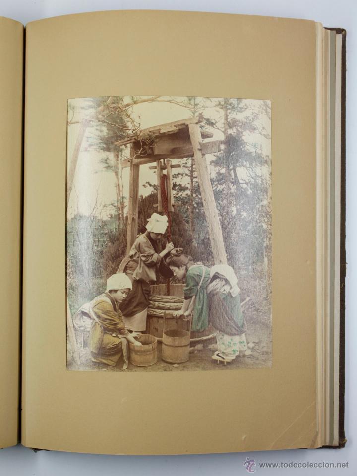 Fotografía antigua: JAPAN,1897-98, BRINKLEY, EDITION DE LUXE. Más de 200 albúminas y 9 collotipos. 9 álbumes. Ver fotos - Foto 64 - 44465154
