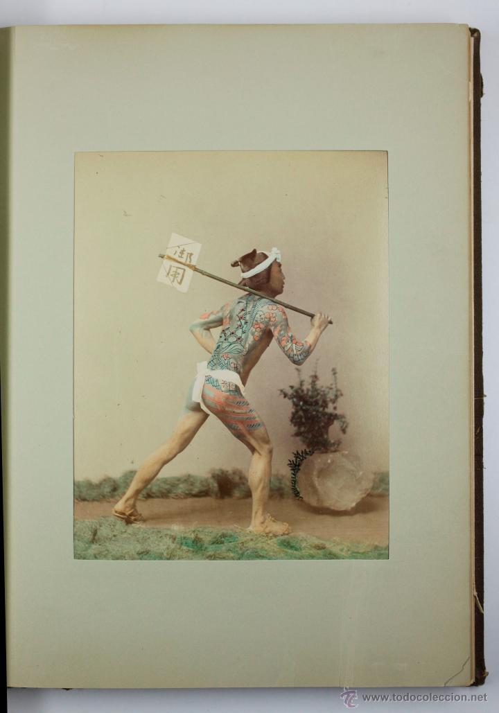 Fotografía antigua: JAPAN,1897-98, BRINKLEY, EDITION DE LUXE. Más de 200 albúminas y 9 collotipos. 9 álbumes. Ver fotos - Foto 65 - 44465154