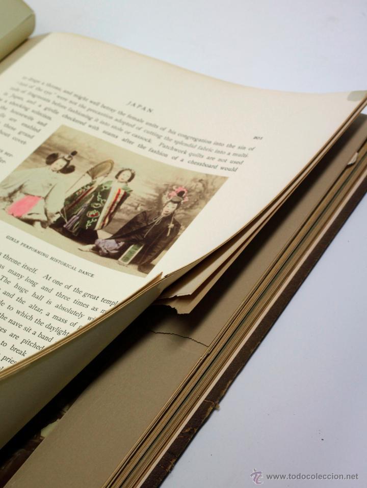 Fotografía antigua: JAPAN,1897-98, BRINKLEY, EDITION DE LUXE. Más de 200 albúminas y 9 collotipos. 9 álbumes. Ver fotos - Foto 66 - 44465154