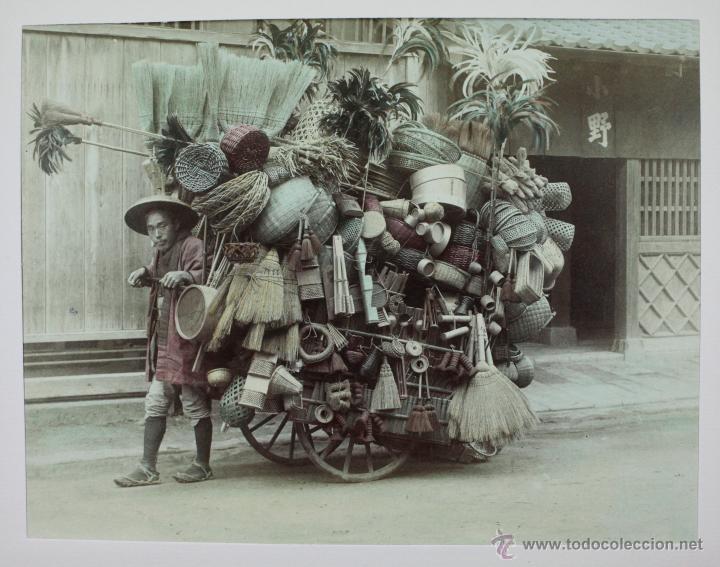 Fotografía antigua: JAPAN,1897-98, BRINKLEY, EDITION DE LUXE. Más de 200 albúminas y 9 collotipos. 9 álbumes. Ver fotos - Foto 68 - 44465154