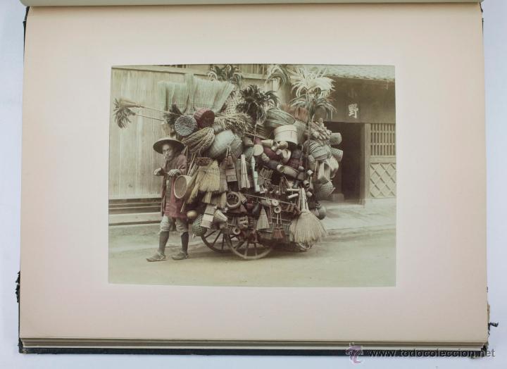 Fotografía antigua: JAPAN,1897-98, BRINKLEY, EDITION DE LUXE. Más de 200 albúminas y 9 collotipos. 9 álbumes. Ver fotos - Foto 69 - 44465154
