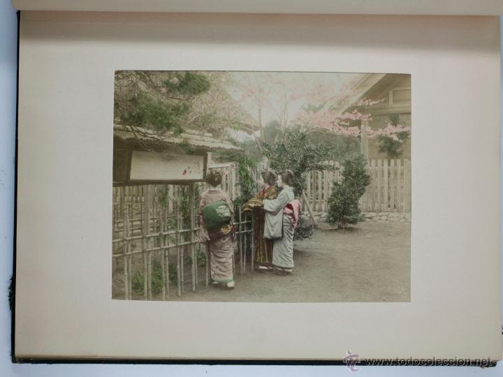 Fotografía antigua: JAPAN,1897-98, BRINKLEY, EDITION DE LUXE. Más de 200 albúminas y 9 collotipos. 9 álbumes. Ver fotos - Foto 71 - 44465154
