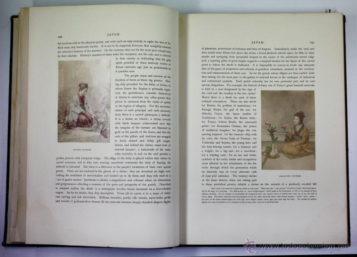 Fotografía antigua: JAPAN,1897-98, BRINKLEY, EDITION DE LUXE. Más de 200 albúminas y 9 collotipos. 9 álbumes. Ver fotos - Foto 72 - 44465154