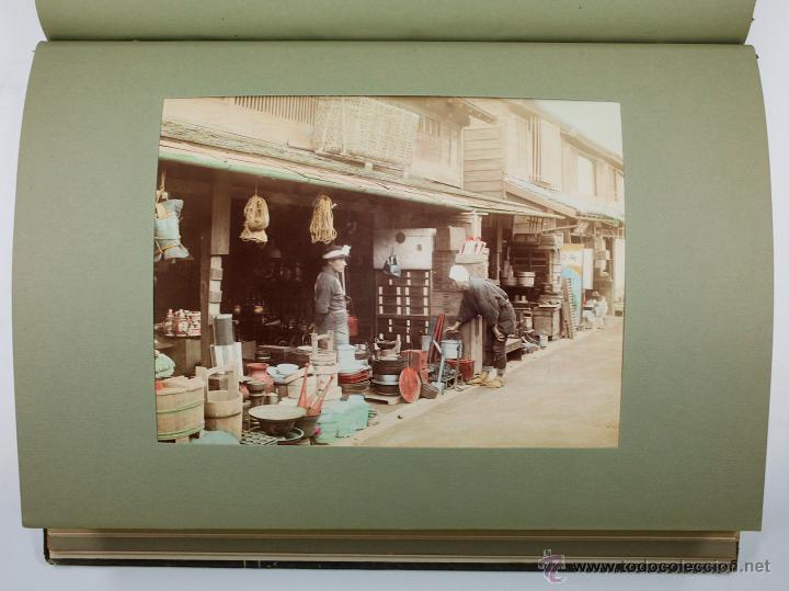 Fotografía antigua: JAPAN,1897-98, BRINKLEY, EDITION DE LUXE. Más de 200 albúminas y 9 collotipos. 9 álbumes. Ver fotos - Foto 76 - 44465154