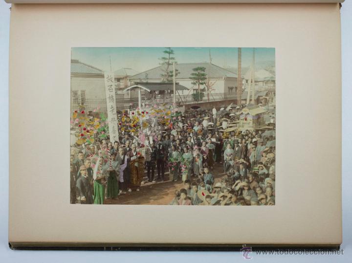Fotografía antigua: JAPAN,1897-98, BRINKLEY, EDITION DE LUXE. Más de 200 albúminas y 9 collotipos. 9 álbumes. Ver fotos - Foto 77 - 44465154