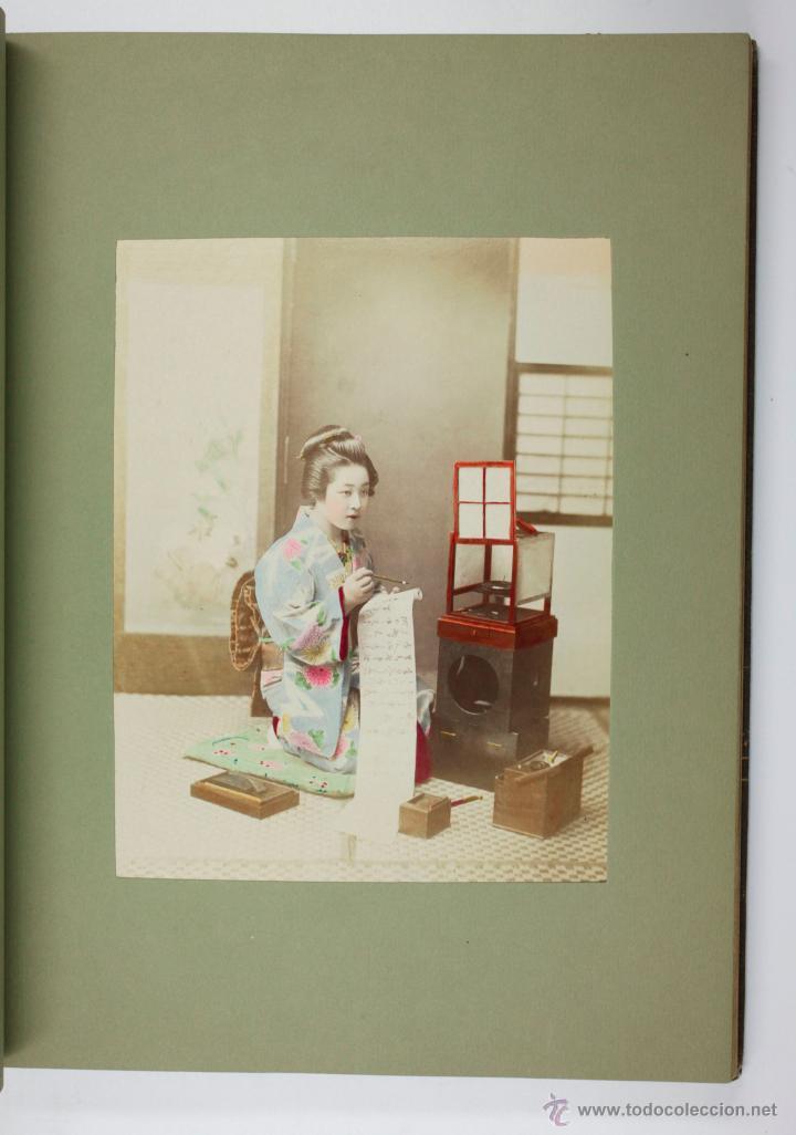 Fotografía antigua: JAPAN,1897-98, BRINKLEY, EDITION DE LUXE. Más de 200 albúminas y 9 collotipos. 9 álbumes. Ver fotos - Foto 78 - 44465154