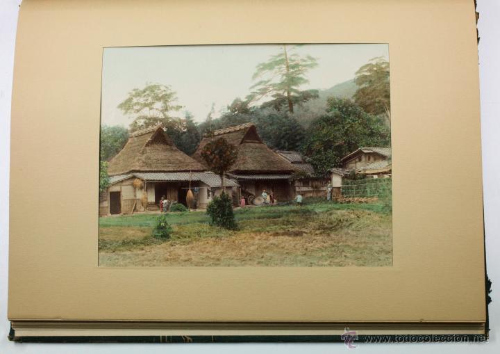 Fotografía antigua: JAPAN,1897-98, BRINKLEY, EDITION DE LUXE. Más de 200 albúminas y 9 collotipos. 9 álbumes. Ver fotos - Foto 83 - 44465154