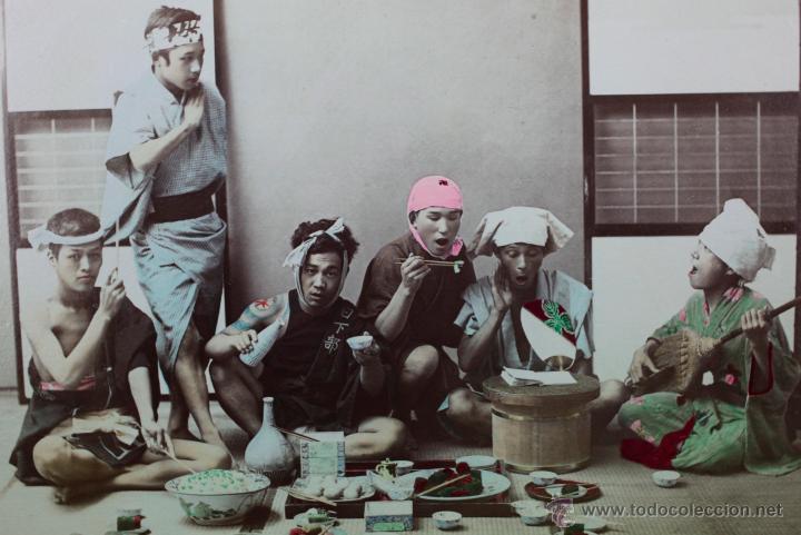 Fotografía antigua: JAPAN,1897-98, BRINKLEY, EDITION DE LUXE. Más de 200 albúminas y 9 collotipos. 9 álbumes. Ver fotos - Foto 84 - 44465154