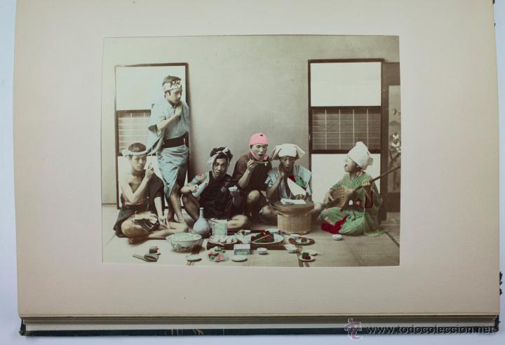 Fotografía antigua: JAPAN,1897-98, BRINKLEY, EDITION DE LUXE. Más de 200 albúminas y 9 collotipos. 9 álbumes. Ver fotos - Foto 85 - 44465154