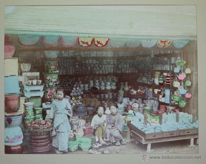 Fotografía antigua: JAPAN,1897-98, BRINKLEY, EDITION DE LUXE. Más de 200 albúminas y 9 collotipos. 9 álbumes. Ver fotos - Foto 86 - 44465154