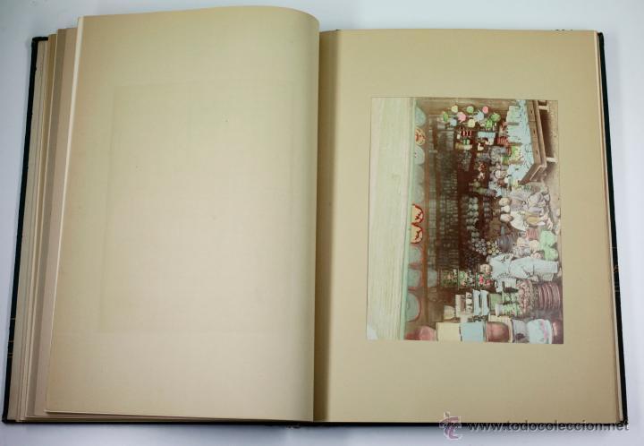 Fotografía antigua: JAPAN,1897-98, BRINKLEY, EDITION DE LUXE. Más de 200 albúminas y 9 collotipos. 9 álbumes. Ver fotos - Foto 87 - 44465154