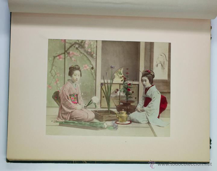Fotografía antigua: JAPAN,1897-98, BRINKLEY, EDITION DE LUXE. Más de 200 albúminas y 9 collotipos. 9 álbumes. Ver fotos - Foto 89 - 44465154