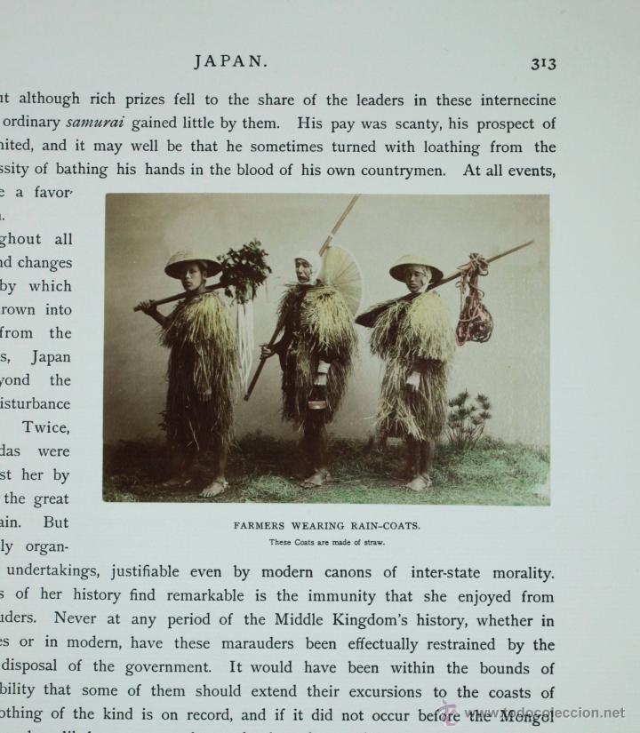Fotografía antigua: JAPAN,1897-98, BRINKLEY, EDITION DE LUXE. Más de 200 albúminas y 9 collotipos. 9 álbumes. Ver fotos - Foto 90 - 44465154
