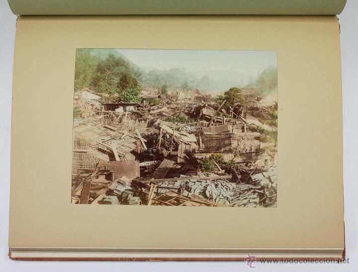 Fotografía antigua: JAPAN,1897-98, BRINKLEY, EDITION DE LUXE. Más de 200 albúminas y 9 collotipos. 9 álbumes. Ver fotos - Foto 96 - 44465154