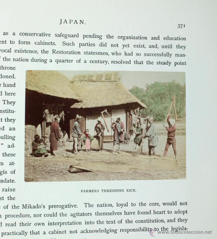Fotografía antigua: JAPAN,1897-98, BRINKLEY, EDITION DE LUXE. Más de 200 albúminas y 9 collotipos. 9 álbumes. Ver fotos - Foto 99 - 44465154