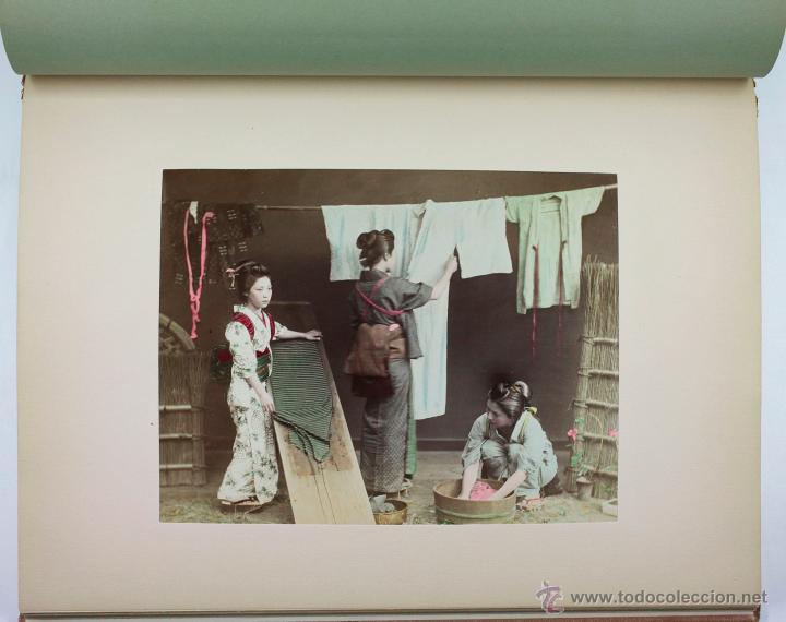 Fotografía antigua: JAPAN,1897-98, BRINKLEY, EDITION DE LUXE. Más de 200 albúminas y 9 collotipos. 9 álbumes. Ver fotos - Foto 100 - 44465154