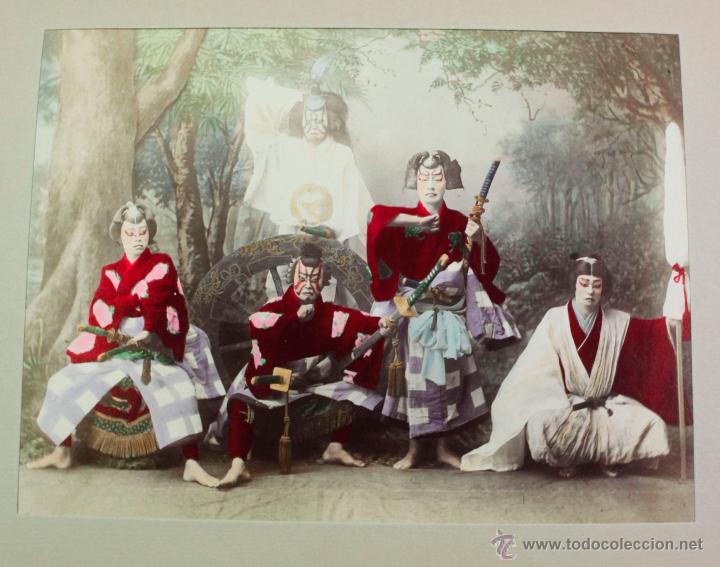 Fotografía antigua: JAPAN,1897-98, BRINKLEY, EDITION DE LUXE. Más de 200 albúminas y 9 collotipos. 9 álbumes. Ver fotos - Foto 101 - 44465154