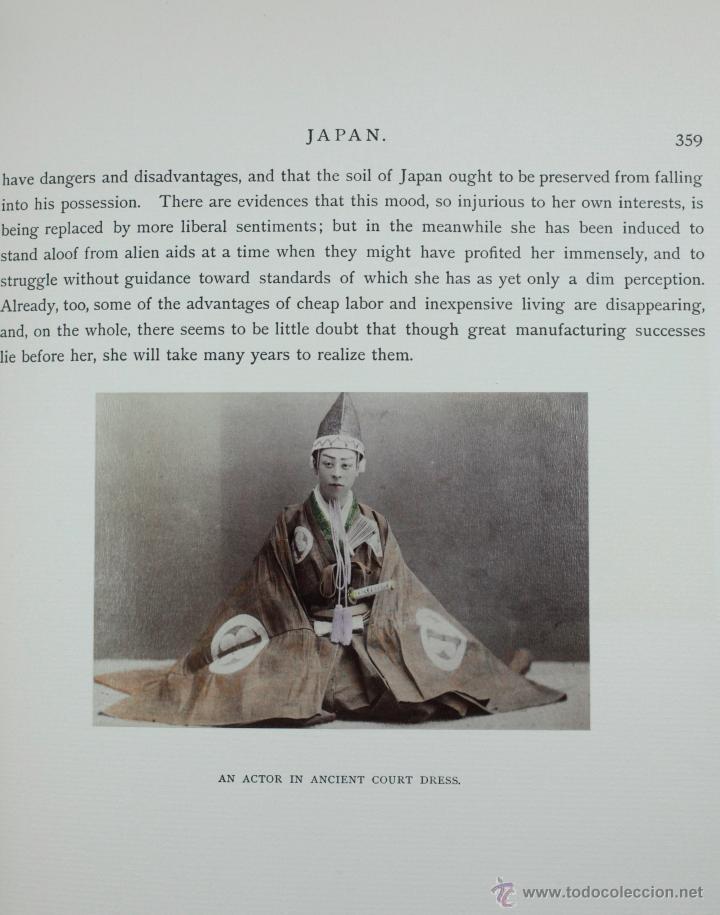 Fotografía antigua: JAPAN,1897-98, BRINKLEY, EDITION DE LUXE. Más de 200 albúminas y 9 collotipos. 9 álbumes. Ver fotos - Foto 103 - 44465154