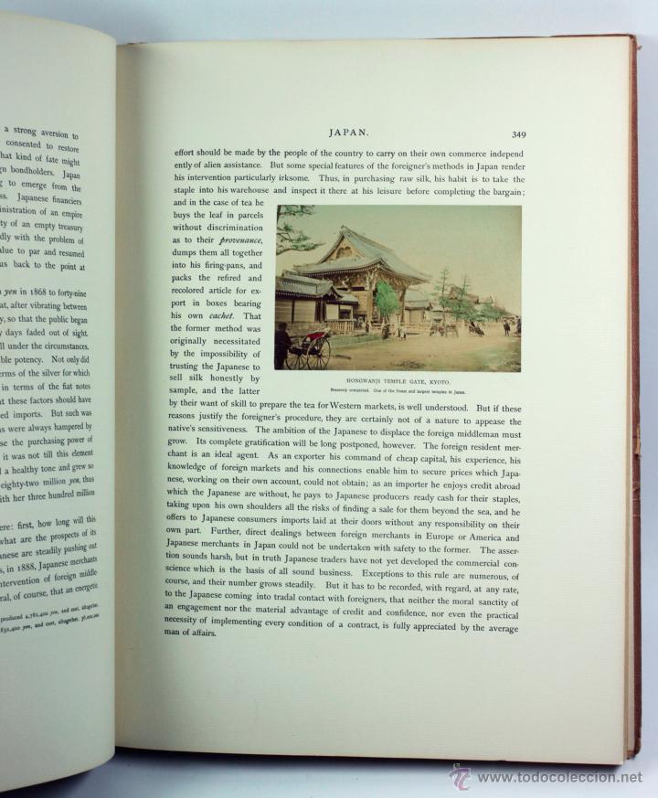Fotografía antigua: JAPAN,1897-98, BRINKLEY, EDITION DE LUXE. Más de 200 albúminas y 9 collotipos. 9 álbumes. Ver fotos - Foto 107 - 44465154