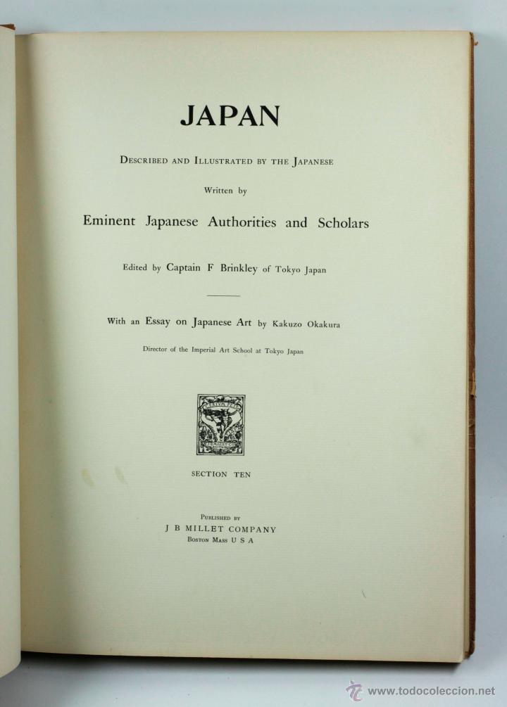 Fotografía antigua: JAPAN,1897-98, BRINKLEY, EDITION DE LUXE. Más de 200 albúminas y 9 collotipos. 9 álbumes. Ver fotos - Foto 111 - 44465154
