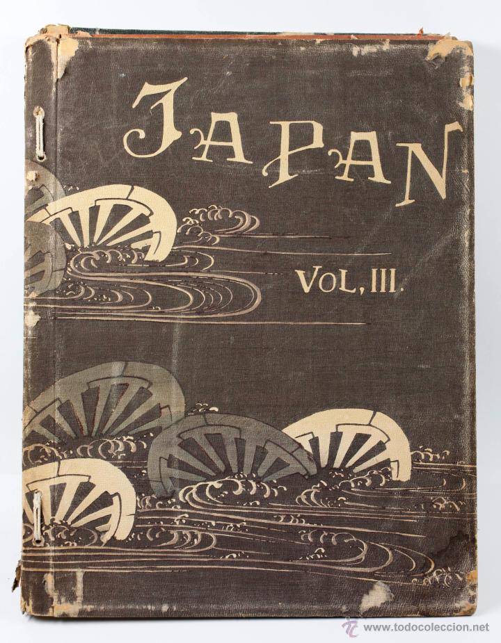 Fotografía antigua: JAPAN,1897-98, BRINKLEY, EDITION DE LUXE. Más de 200 albúminas y 9 collotipos. 9 álbumes. Ver fotos - Foto 113 - 44465154