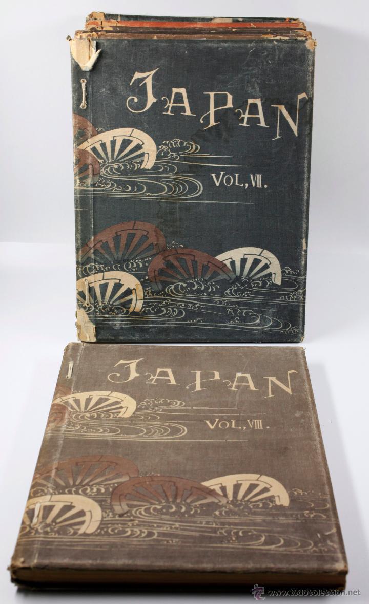 Fotografía antigua: JAPAN,1897-98, BRINKLEY, EDITION DE LUXE. Más de 200 albúminas y 9 collotipos. 9 álbumes. Ver fotos - Foto 115 - 44465154