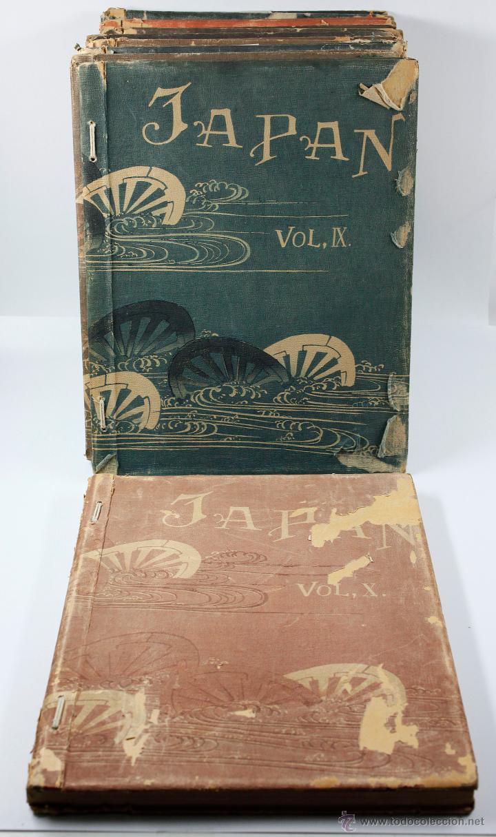 Fotografía antigua: JAPAN,1897-98, BRINKLEY, EDITION DE LUXE. Más de 200 albúminas y 9 collotipos. 9 álbumes. Ver fotos - Foto 116 - 44465154
