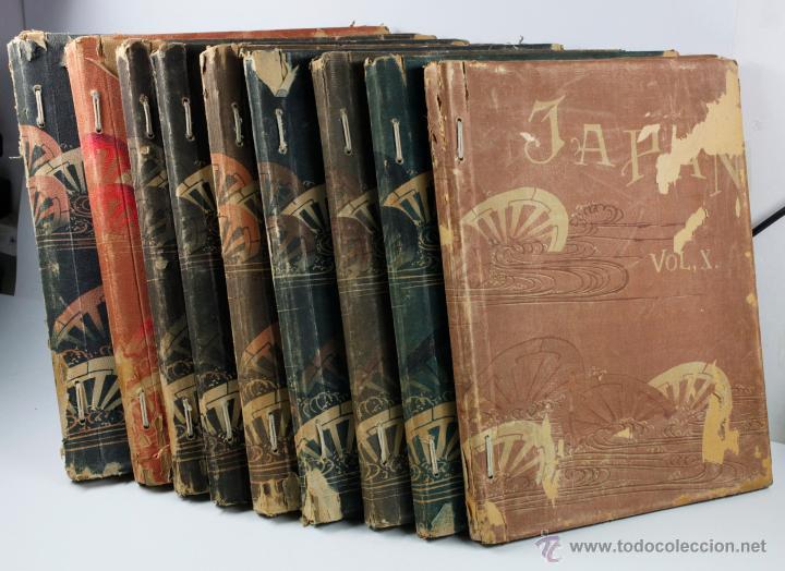 Fotografía antigua: JAPAN,1897-98, BRINKLEY, EDITION DE LUXE. Más de 200 albúminas y 9 collotipos. 9 álbumes. Ver fotos - Foto 117 - 44465154