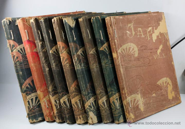 Fotografía antigua: JAPAN,1897-98, BRINKLEY, EDITION DE LUXE. Más de 200 albúminas y 9 collotipos. 9 álbumes. Ver fotos - Foto 118 - 44465154