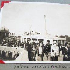 Fotografía antigua: ANTIGUA FOTOGRAFÍA- MIDE 8.2 X 10.6 CM.- S/F- POSIBLEMENTE DE LOS AÑOS 30- FÁTIMA. Lote 44476077