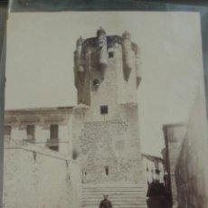 Fotografía antigua: FOTOGRAFÍA 22 X 18 CM ALBÚMINA. TORRE DEL CLAVERO. SALAMANCA. GUARDIA CIVIL. . Lote 44503246