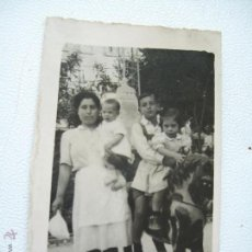 Fotografía antigua: ANTIGUA FOTOGRAFÍA 6.8 X 4.3 CM.-S/F.- . Lote 44636510
