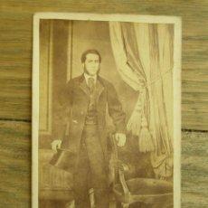 Fotografía antigua: ANTIGUA FOTOGRAFÍA ALBÚMINA EN CARTÓN . 10 CM X 6.5 CM .. Lote 45144245